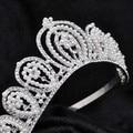 Bridal Tiara de Strass Coroa De Cabelo De Cristal Do Vintage Jóias Cabeça de Noiva Acessórios Do Casamento jóias testa headbands Testeira