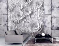 Custom wallpaper abstract Origami flower wall paper mural 3d kids bedroom wallpaper TV sofa background wallpaper 8d