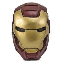 Пейнтбол страйкбол проволочная сетка Железный человек 2 полная маска для лица оптом и в розницу