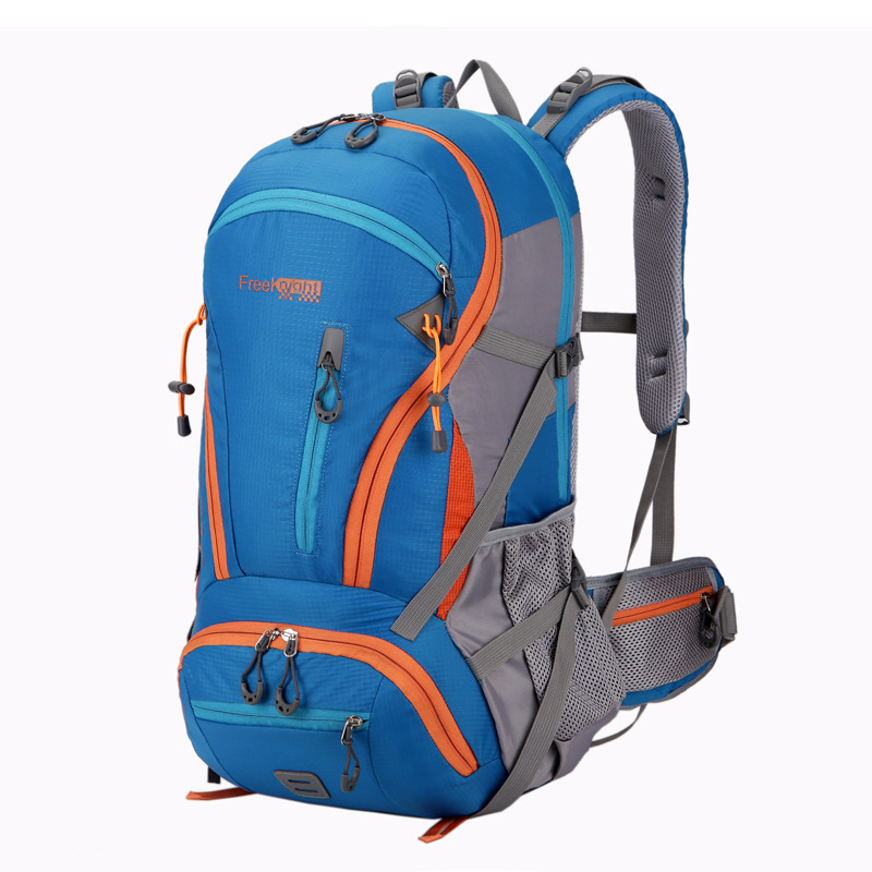купить Ultralight 45L Waterproof Outdoor Duffle Luggage Backpack Rafting Sports Hiking Camping Backpack Stuff Pack Backpack Travel Kits недорого
