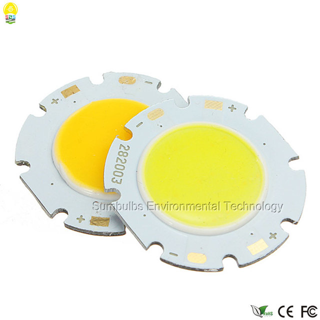 Sumbulbs LED integrated chip 2820 COB light source for LED lamps bulbs 20mm lighting diameter warm/ nature/ cool white 20pcs