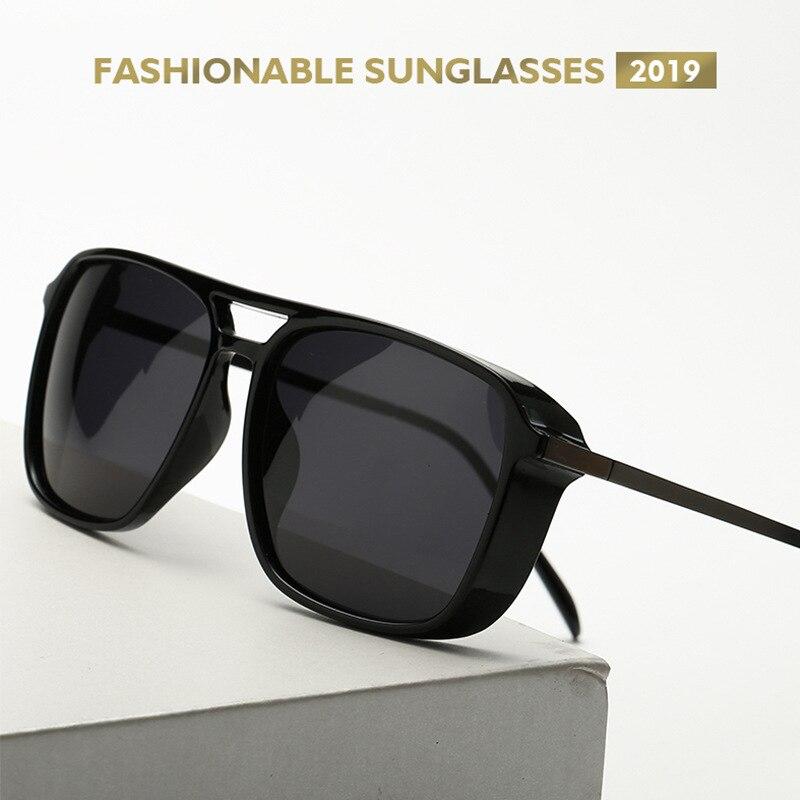 2019 Tony Stark óculos de Sol óculos Polarizados óculos de Sol Dos Homens do Estilo de Vôo de Design Da Marca Óculos de Sol óculos de sol para homens óculos