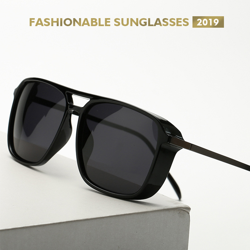 2019 Tony stark Sonnenbrille Polarisierte gläser Flug Sonnenbrille Stil Männer Marke Design Sonnenbrille sonnenbrille für männer gläser