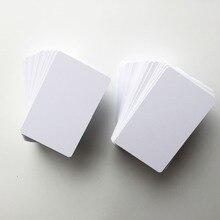 0,6 мм толщина Бланки белой ПВХ-карты для струйной печати для emply печати карт от Epson R200, R210, R220 или canon IP7250, IP7240 200 шт./лот