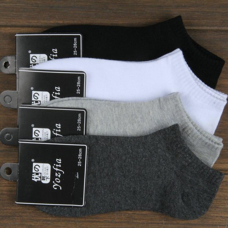 Confident 10pais/lot 2018 New Men Socks Cotton Men Short Socks Male Sock Slippers 0332 Men's Socks