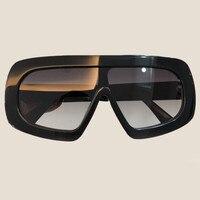 High Quality Acetate Frame Sunglasses Fashion Brand Designer Square Shades for Women Mens Oculos De Sol Feminino with Box