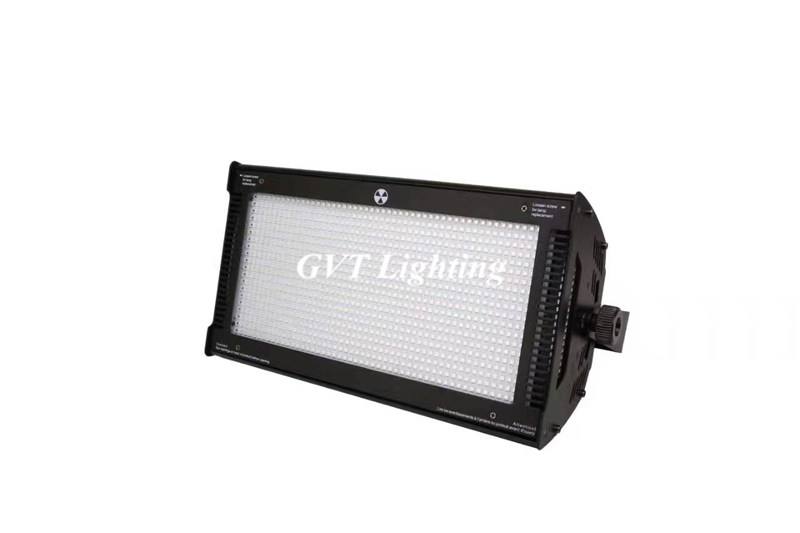 Flightcase packing 4pcs/lot 1000W LED RGB Strobe Light Professional Strobe Lighting Stage Party Bar Music Active DMX 512 control - 2
