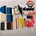 21 Uds conjunto de herramientas de revestimiento para coche de película de vinilo Kit de herramientas de lana escurridor de hielo ventana tintes herramientas imán titular con cuchilla de afeitar