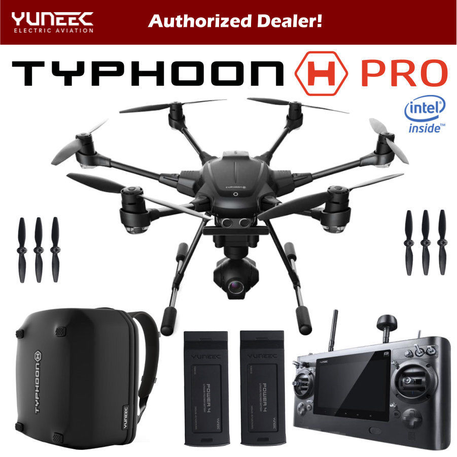 In Stock Yuneec Typhoon H480 Professional HD 4K Follow Obstacle Avoidance FPV Drone Quadcopter VS DJI Phantom 4 Free Shipping
