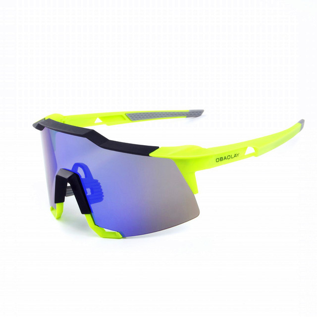 Sporting Sunglasses 2 Lenses Real REVO 100% Anti-UV Road Goggles bicicleta Gafas ciclismo BLADE