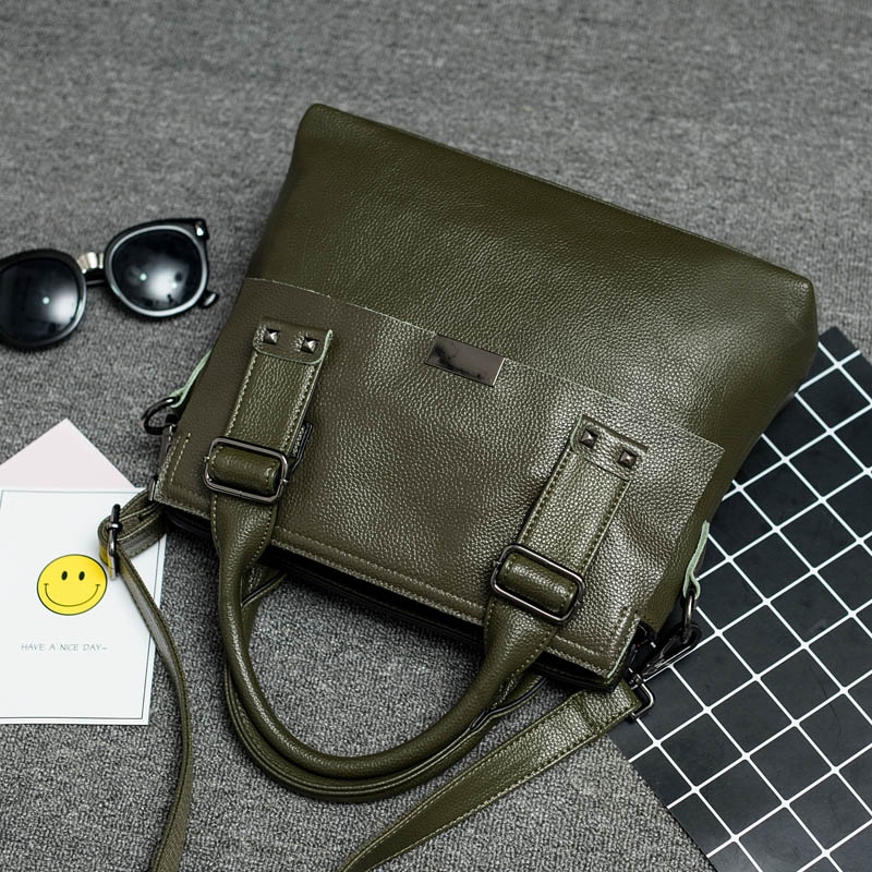 ФОТО 2017 Vintage It Bag Office Handbag High Quality Designer Luxury Bags saffiano Ladies Genuine Leather Bag Cowhide Shoulder Bag