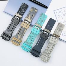 Men's Watch Accessories Camouflage Strap for Casio G-SHOCK GA-110 GA-100 GD-120