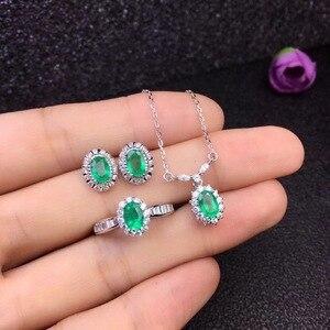 Image 2 - Модное ожерелье из серебра 925 пробы с натуральными бриллиантами