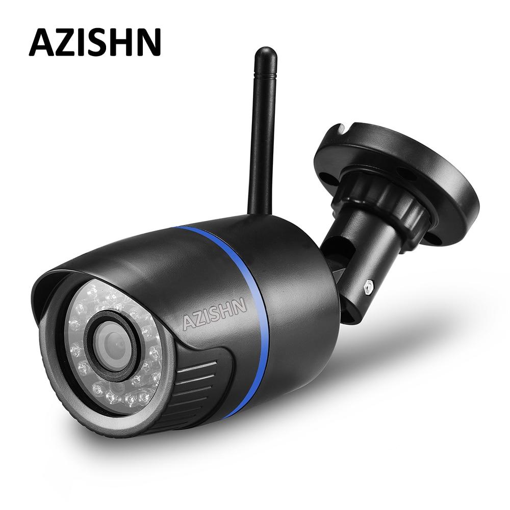 AZISHN Yoosee Wifi IP Caméra 720 P 960 P 1080 P Sans Fil Filaire ONVIF P2P CCTV Bullet Caméra Extérieure Avec Fente Pour Carte SD Max 128G