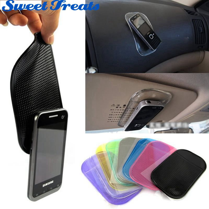 Sweettreats Desk Anti Slip Sticky Pad Mat In Car For