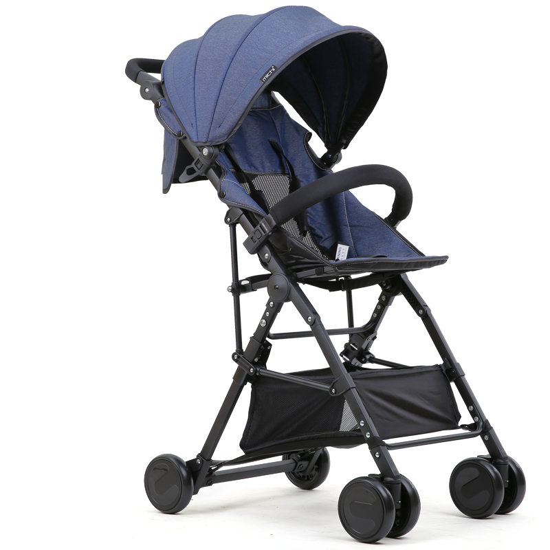 New High Landscape Baby Stroller Portable Folding Can Sit Super Light Baby Umbrella Carriage Travel Prams Kinderwagen carrinho folding baby stroller lightweight baby prams for newborns high landscape portable baby carriage sitting lying 2 in 1
