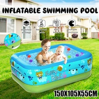 150cm Inflatable Baby Swimming Pool Piscina Portable Outdoor Children Basin Bathtub Kids Pool bBaby Swimming Pool