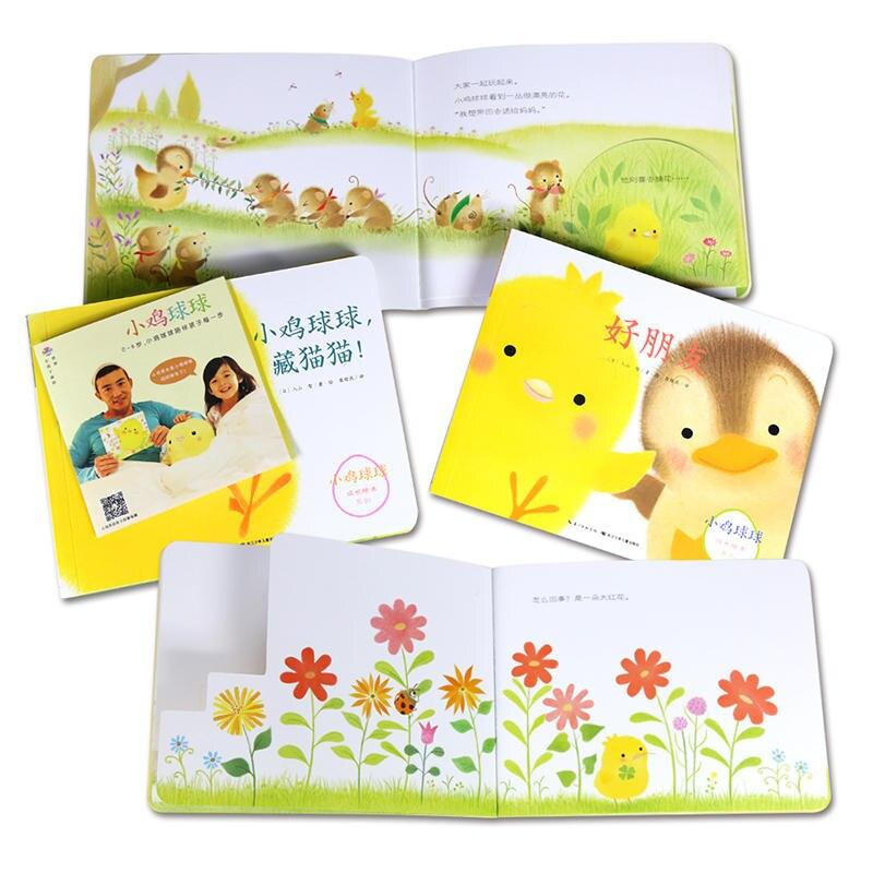 crescimento educacional 3d flap livros ilustrados para 02