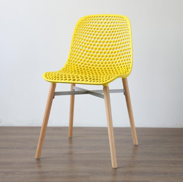 YINGYI Free Shipping Modern PP Plastic Dining Chair ...