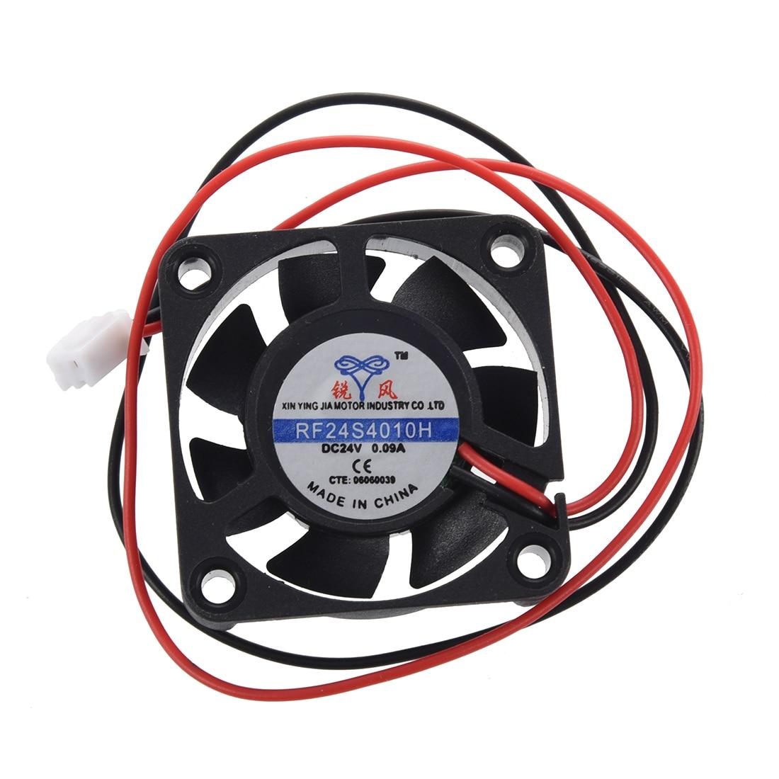 все цены на SODIAL(R) DC 24V 40 x 40 x 10mm 4010 7 Blade Brushless Cooling Fan онлайн