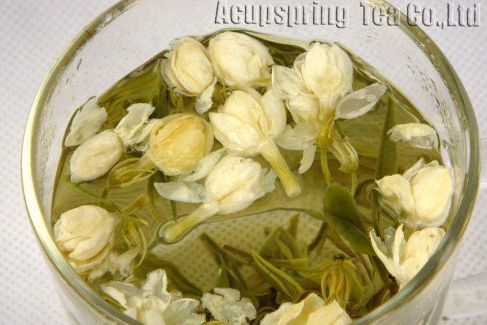 4oz/100g Premium Jasmine Huoshan Huangya, Good Quality Green Tea,A3CLF02M, Free Shipping 4oz 110g jasmine pearl tea fragrance green tea a2clz01 free shipping