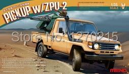 Meng Model VS 005 1 35 PICKUP w ZPU 2 plastic model kit