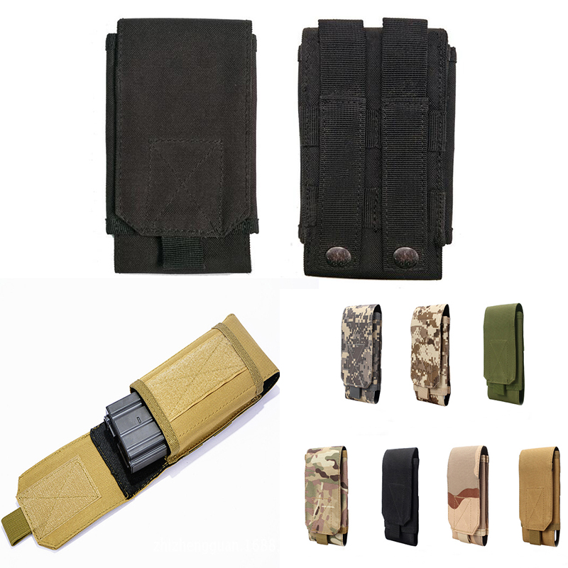 Outdoor Waist Belt Military Sports Bag Case For AGM A9 A8 X3 X2 SE X1 X2 Pro M2 Caterpillar <font><b>Cat</b></font> S50C <font><b>S61</b></font> S60 <font><b>Cat</b></font> S40 S41 S30 S31 image