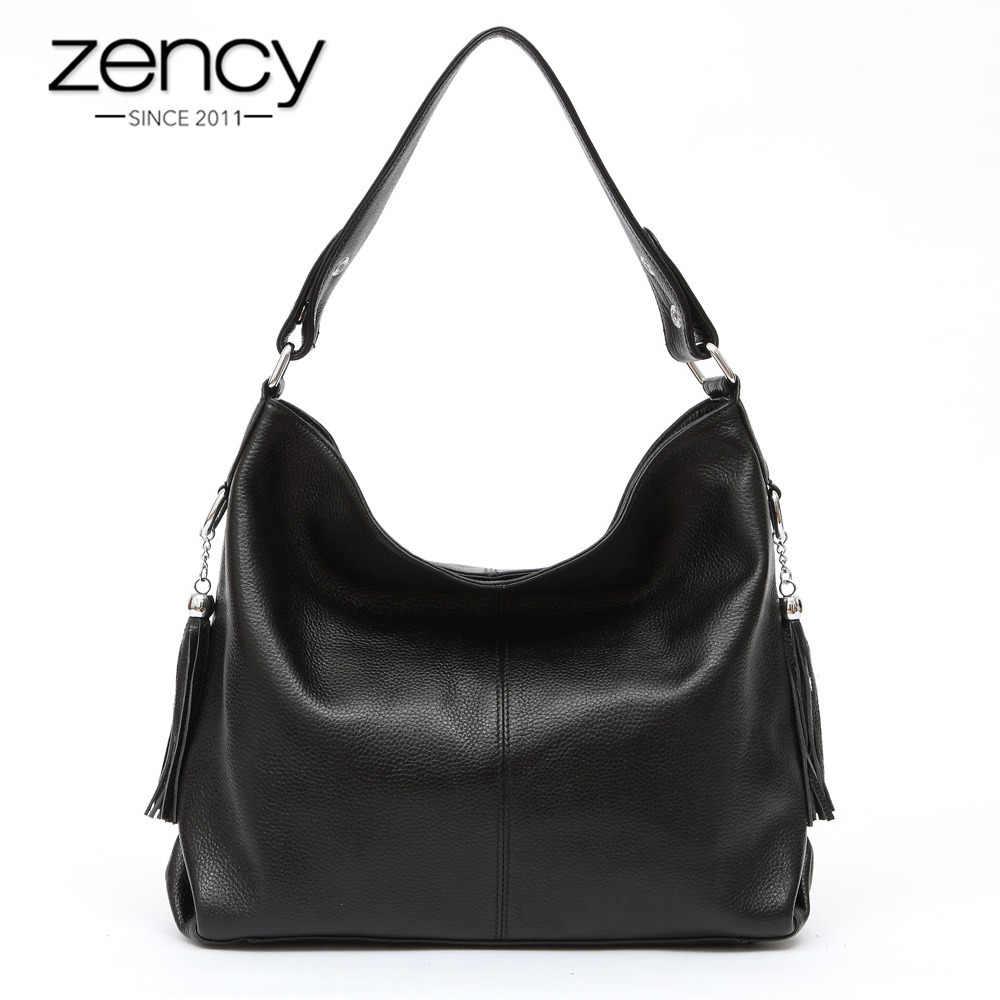 933185d48a60 Zency элегантный для женщин сумка 100% пояса из натуральной кожи модные  женские сумки ленточки Шарм