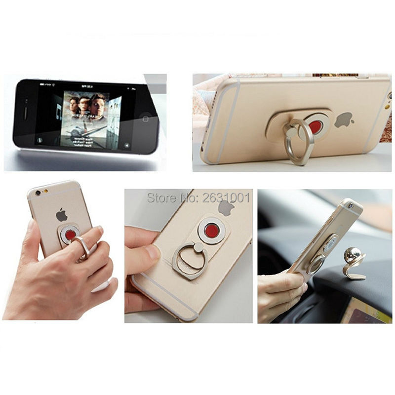 car finger ring phone holder gold4