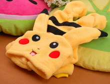 Cute Pikachu / Pokemon coat / hooded sweatshirt / costume for Chihuahuas