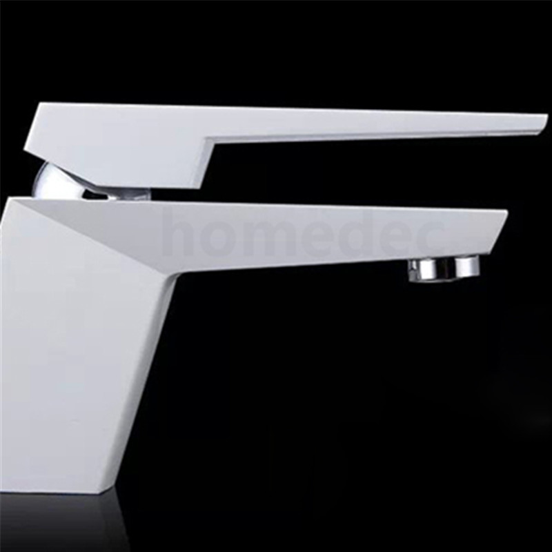 High Quality Square Bathroom Faucet Bath Mixer Brass Cold And Hot Two Ways The Mixer Bathroom Sink Torneira De Banheiro kemaidi high quality brass morden kitchen faucet mixer tap bathroom sink hot and cold torneira de cozinha with two function