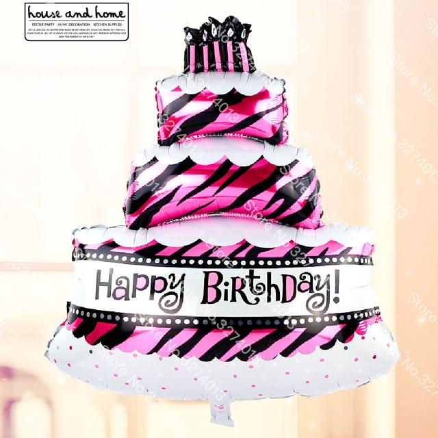 1pc Champagne Bottle Glass Cake Foil Balloons Big Size Kids Birthday