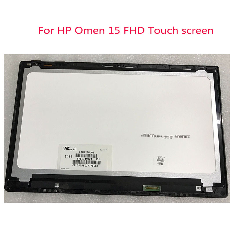 "New HP Omen 15-5000 5010 15.6/"" Touch Screen Digitizer Assembly LTN156HL02-301"