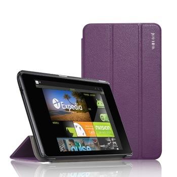 For Google Nexus 7 2nd 2013 PU Leather Case Joylink Folding Folio Tablet Protective Cover Auto Sleep Wake