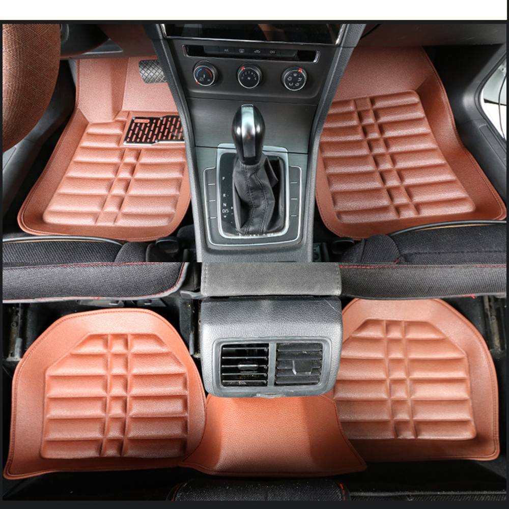 Universal Front/Rear Full Set Car Floor Mats for for BMW Audi Mercedes Benz VW Honda Toyota Hyundai Kia Nissan Jaguar SUV Truck