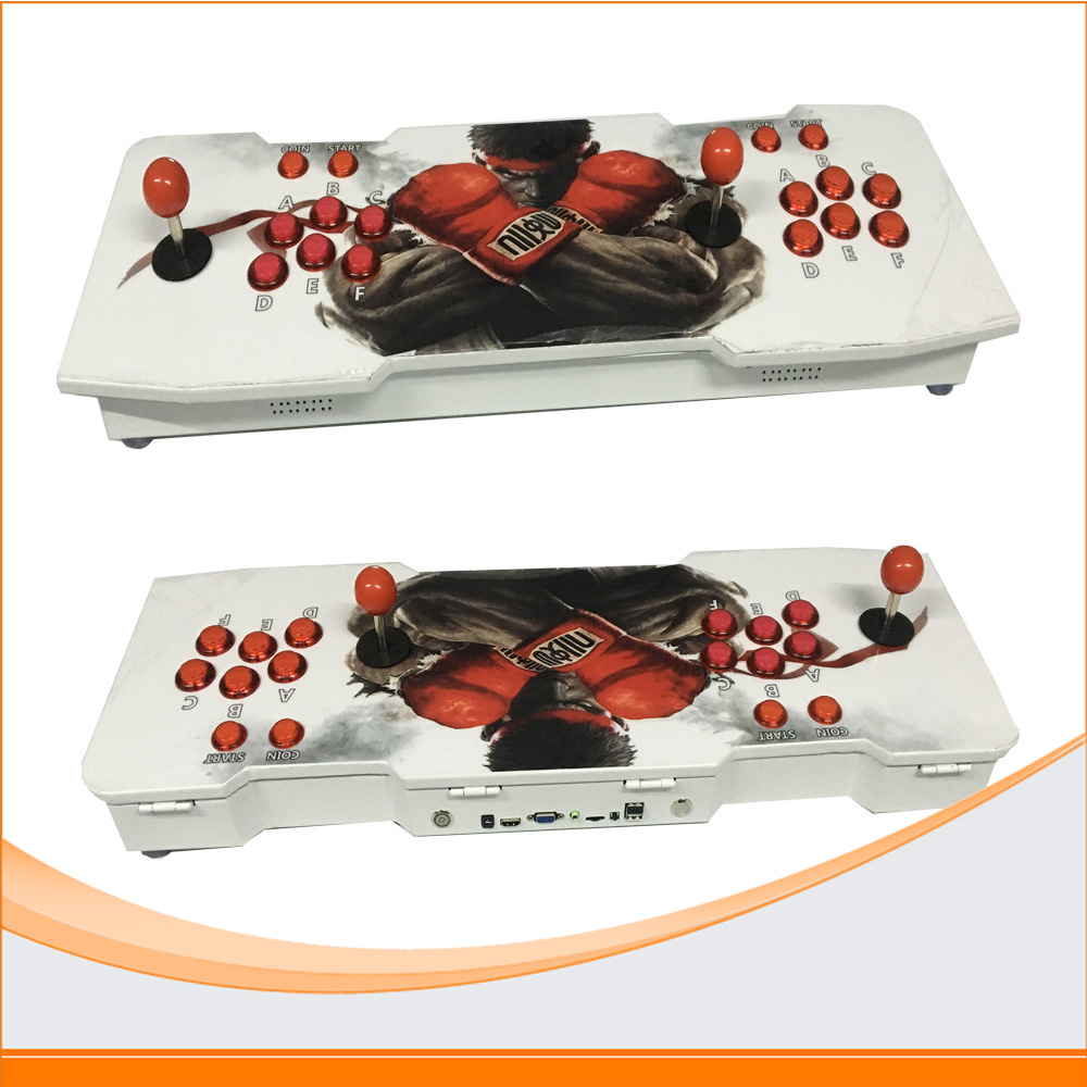 680 in 1 Family game console to HDMI VGA Output Control Joystick Controller For 2 player Fighting game console