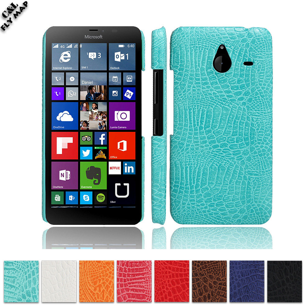 Crocodile Case For Microsoft Lumia 640 XL Hard PC Protective mobile