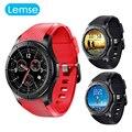 Lemfo lf16 android 5.1 os smart watch phone com 1.39 polegada rom 8 GB + RAM 512 MB suporte MP3 bluetooth WIFI GPS Cartão SIM nano