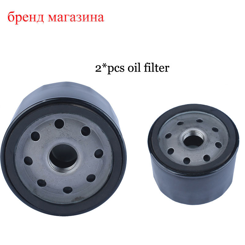 2016 Whole sale 2*pcs/lot Gas Oil Filter For Husqvarna mower 492932 492932S 492056 5049 5076 695396 696854 Lawn Mower Parts