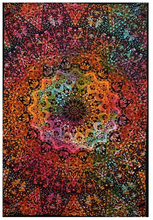 Boho Blanket with Indian Mandala
