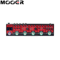 MOOER Red Truck Effect Pedal Boost Modules Built In Tuner Modulation Delay Reverb Distortion Overdrive Tap