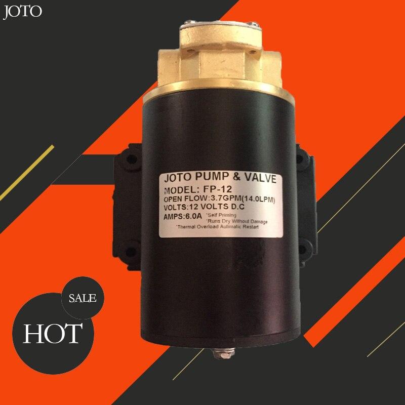 Petite pompe à huile à engrenages Marine électrique 24 V DC pompe à huile à engrenages