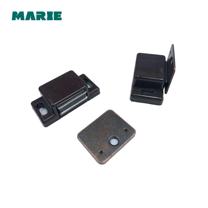 2 unidades de armário da porta de sucção sucção high-grade acessórios de hardware mobiliário porta batente de porta ímã