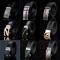 [DWTS] Harness Designer Leather Band Men Automatic Belt Buckle Belts Men belt Wide Belt Men Belt ceinture cinto masculino