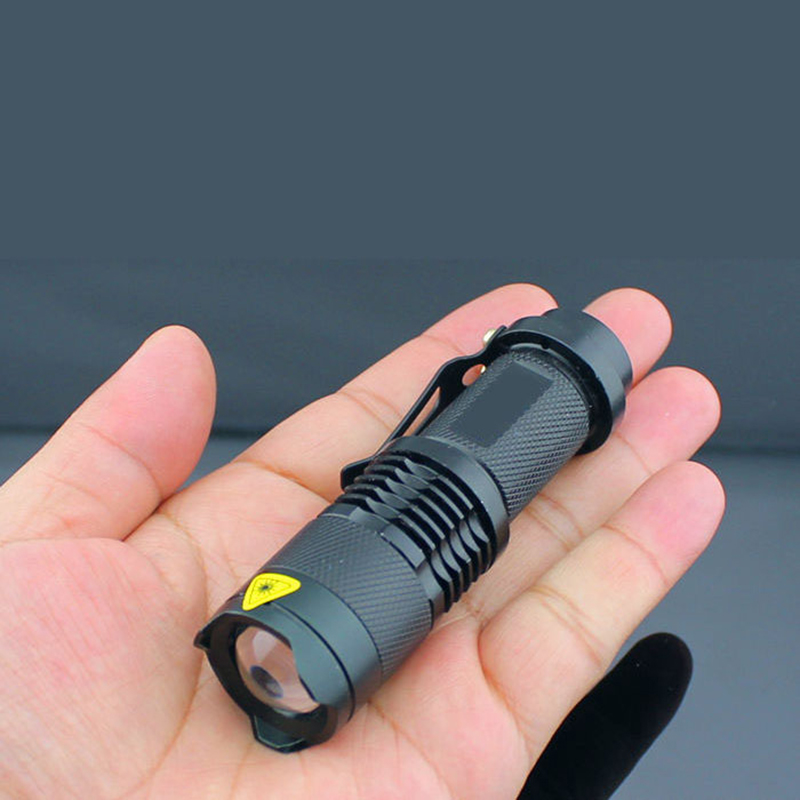 Portable Mini Flashlight 2 in 1 Bike Front Light 450LM Q5 LED Torch Waterproof linterna led Head Flash Lamp Outdoor Work Lights