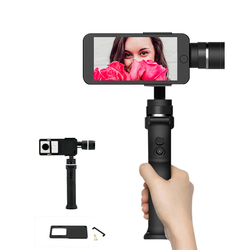 Smartphone Handheld Gimbal 3-Axis Stabilizer for iPhone 8 X Xiaomi Samsung for gopro hero 5 6 xiao Yi Action Camera Accessories zhiyun smooth4 smooth 4 3 axis handheld gimbal stabilizer for smartphone action camera iphone x 8 gopro hero 5 sjcam yi mic kit