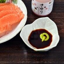 Japanese bowl / mezze bowl  / Buffet salad sauce sauce bowl / dish / clover and wind hand-painted
