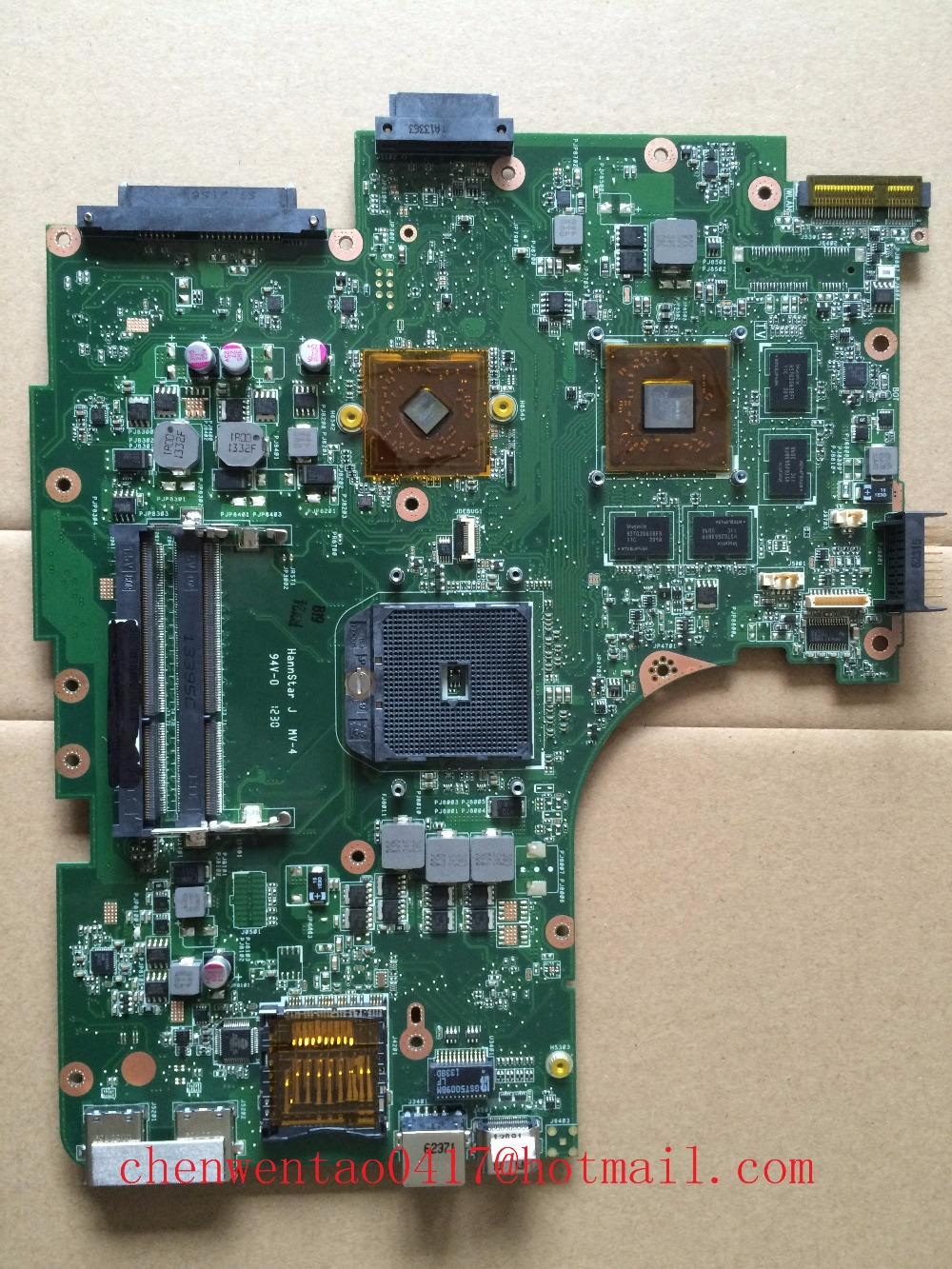 N53TA non-integrated motherboard for asus laptop N53TA 100% full test