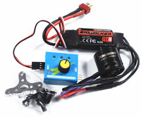 Hobbywing 40A ESC+Dongxinwei 2212 2540KV Brushless Motor High Speed DIY Power Kits+Governor For FPV Fixed Wing SU27 F330/450/550