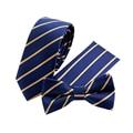 2017 Nueva Floral Rayado Impreso Bowtie Corbatas para hombres Gravatas Handckerchiefs Establece Collar de Boda Vestidos de Bolsillo el Pañuelo Cuadrado